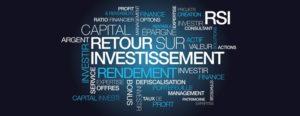 Rentabilite investissement murs de boutique