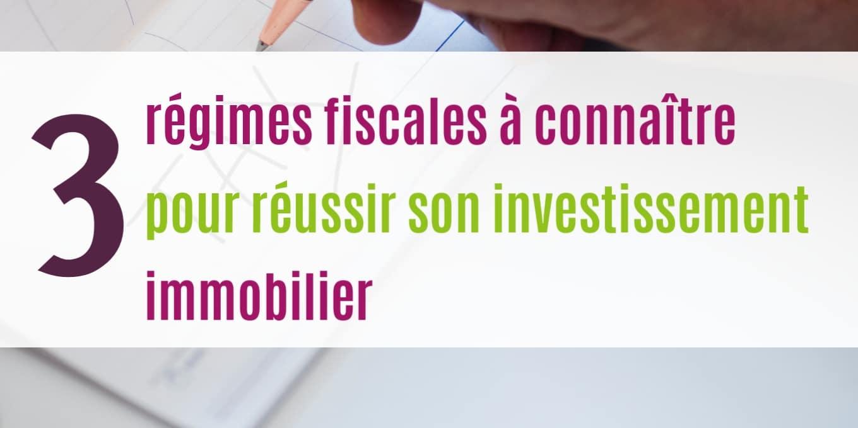 Pour résussir son investissement locatif, il est indispensable de maîtriser la fiscalité.